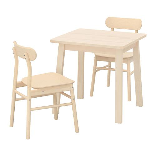 RÖNNINGE/NORRÅKER galds un 2 krēsli