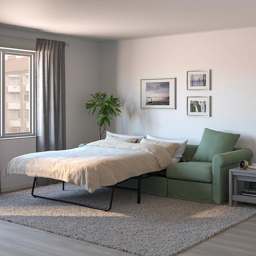 GRÖNLID trivietė sofa-lova