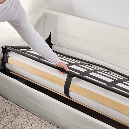 GRÖNLID piecvietīgs stūra guļamdīvāns