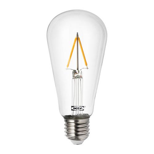 MARKFROST/LUNNOM kabamasis šviestuvas su lempute