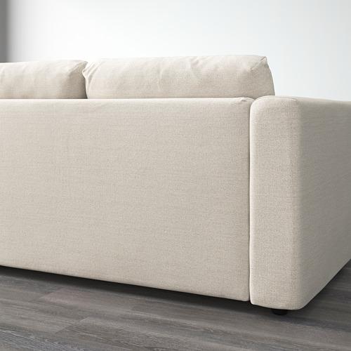 VIMLE trīsvietīgs stūra dīvāns