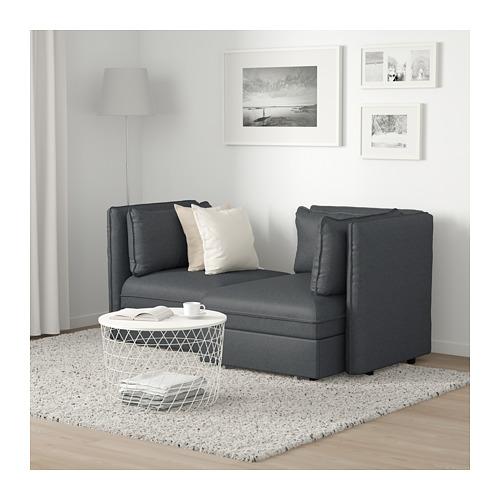 VALLENTUNA dvivietė mod. sofa su sofa-lova