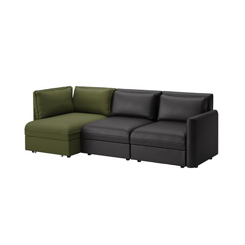 VALLENTUNA trīsvietīgs moduļu guļamdīvāns