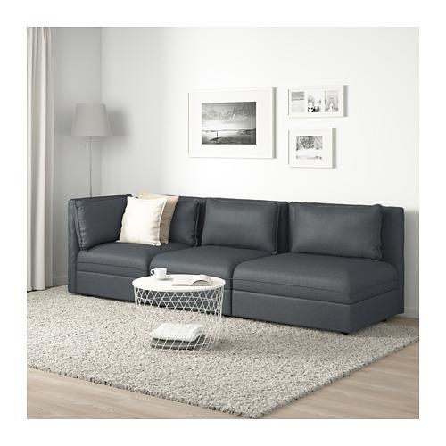 VALLENTUNA 3-vietīgs moduļu dīvāns