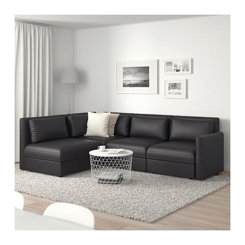 VALLENTUNA trīsvietīgs moduļu stūra dīvāns
