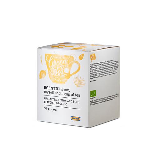 EGENTID zaļā tēja