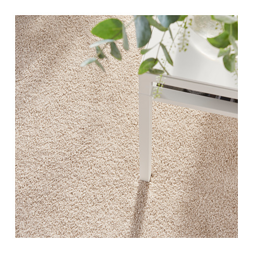TYVELSE paklājs ar īsām plūksnām