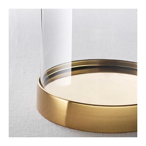 BEGÅVNING stikla kupols ar pamatni