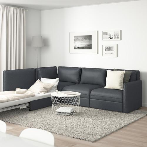 VALLENTUNA trivietė mod. kam. sofa, sofa-lova