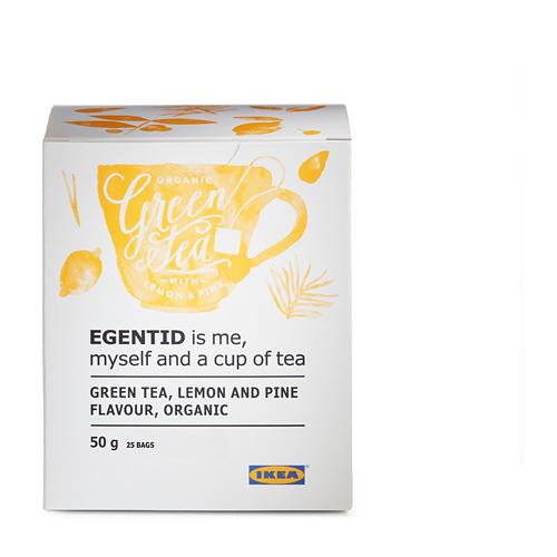 EGENTID žalioji arbata