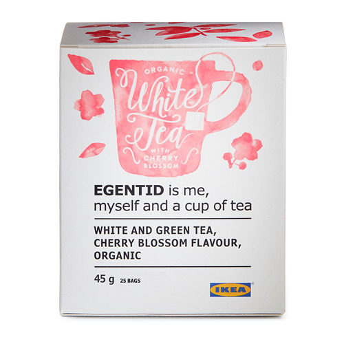 EGENTID baltoji arbata