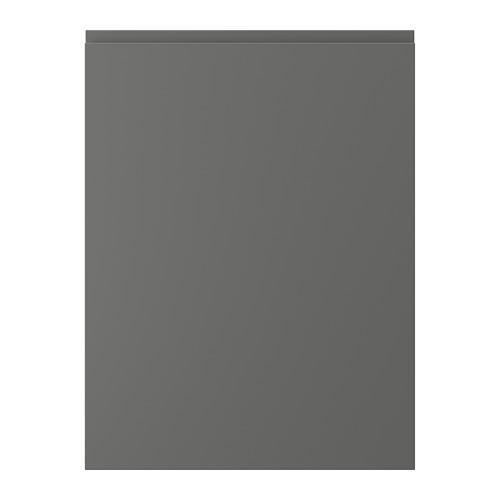VOXTORP durvis, 60x80 cm,  tumši pelēkā krāsā