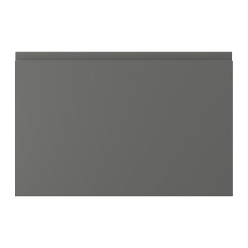 VOXTORP atvilktnes priekša, 60x40 cm,  tumši pelēkā krāsā