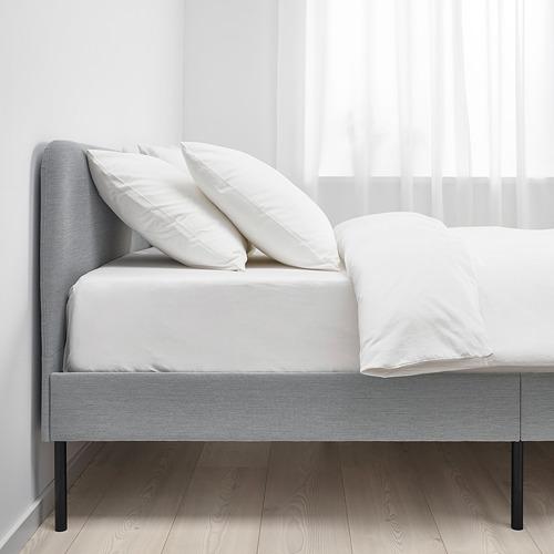 SLATTUM lovos rėmas su apmušalu