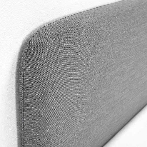 SLATTUM polsterēts gultas rāmis