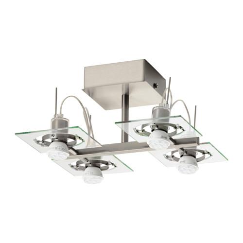 FUGA lubinis šviestuvas su 4 prož. lemp.