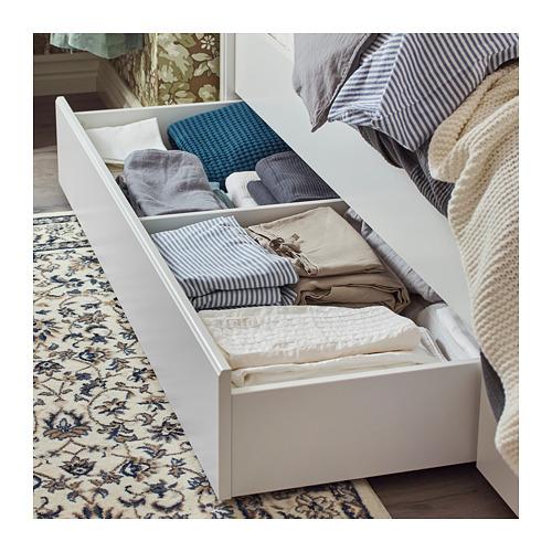 SONGESAND lovos rėmas su 2 stalčiais