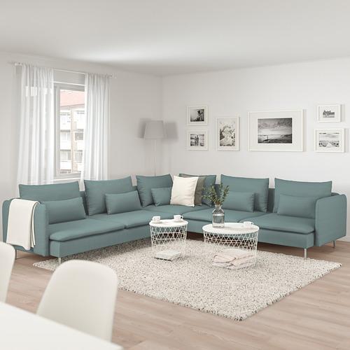 SÖDERHAMN угловой 6-местный диван