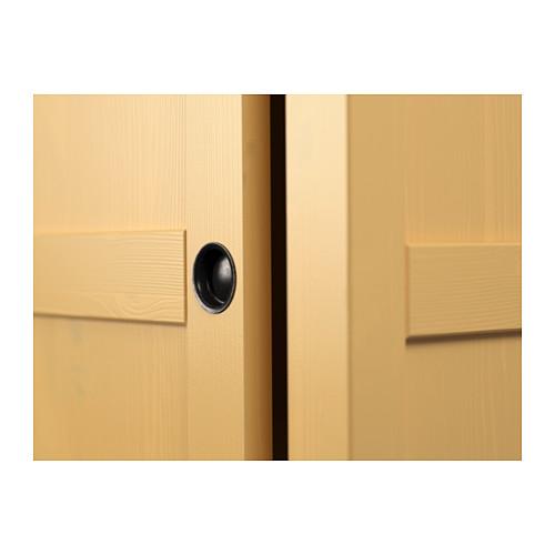 HEMNES skapis ar 2 bīdāmām durvīm