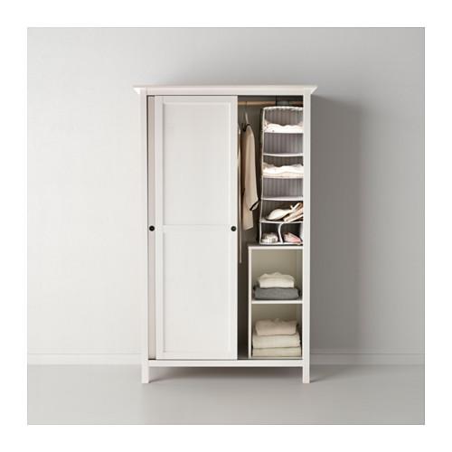 HEMNES гардероб с 2 раздвижными дверцами