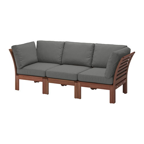 ÄPPLARÖ trivietė modulinė lauko sofa