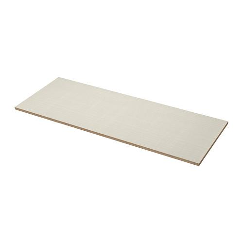 EKBACKEN darba virsma, 63.5x186 cm, matēts smilškrāsā/rakstains lamināts