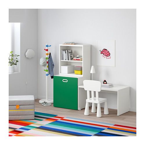 FRITIDS/STUVA galds ar nodalījumu rotaļlietām