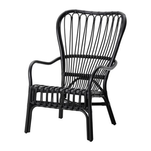 STORSELE fotelis su aukšta atkalte