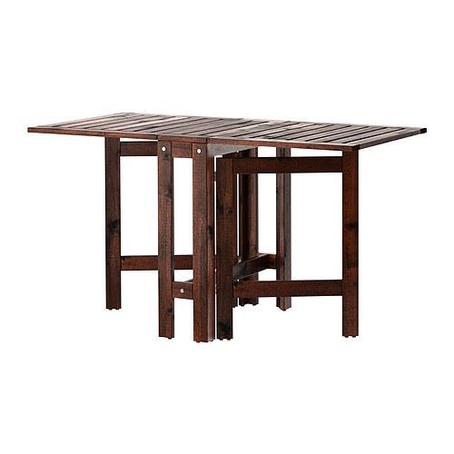 ÄPPLARÖ išskleidžiamasis lauko stalas