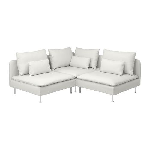 SÖDERHAMN trivietė kampinė sofa