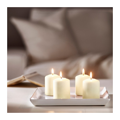 HEMSJÖ unscented block candle