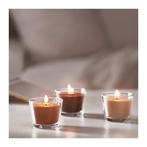 BRÄCKA kvapioji žvakė stikl. indelyje