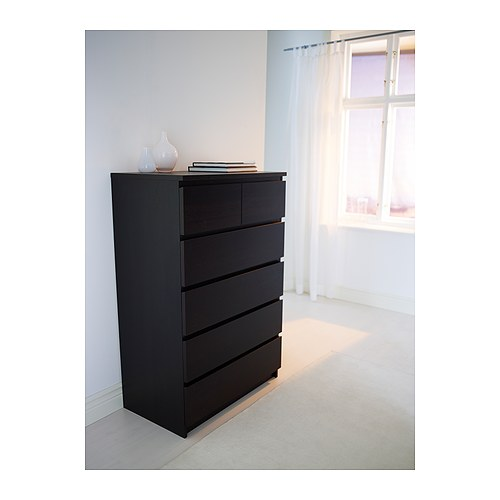 MALM chest of 6 drawers