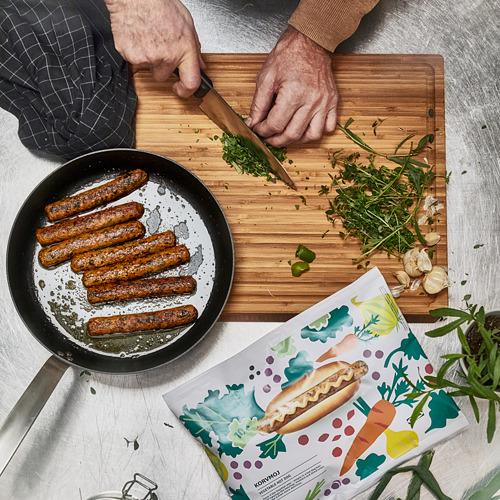 KORVMOJ dārzeņu hotdogs