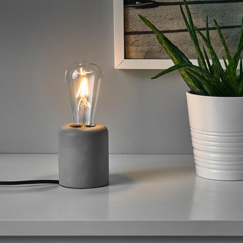 RÅSEGEL galda lampa