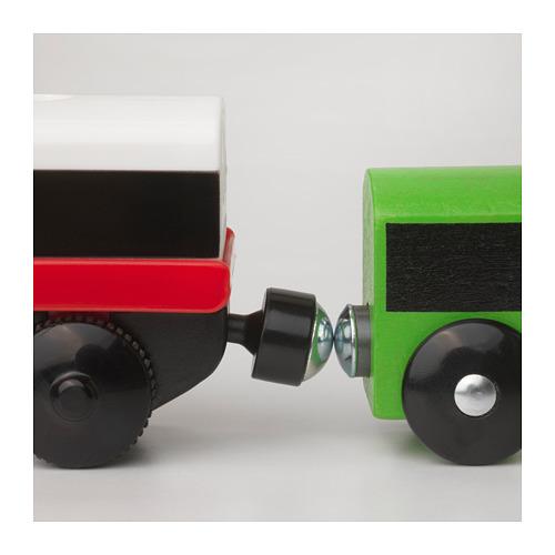 LILLABO lokomotīve, darb. ar baterijām