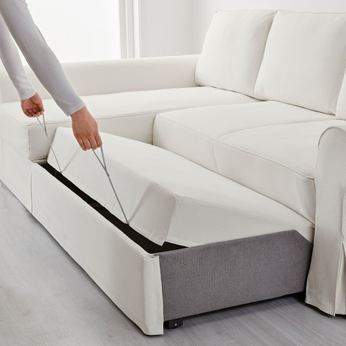 BACKABRO sofa bed with chaise longue