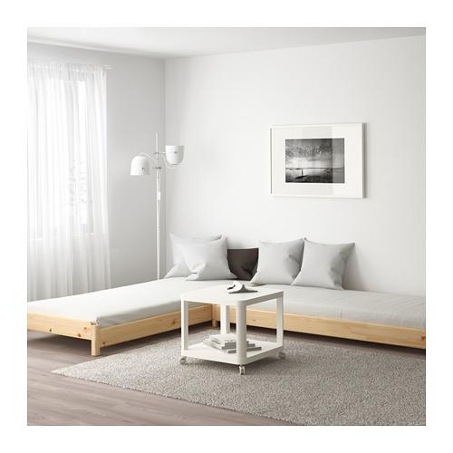 UTÅKER gulta ar 2 matračiem