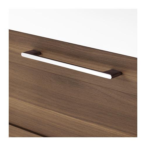 BRÅVIKEN/GODMORGON praustuvo spintelė su 2 stalčiais