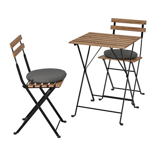 TÄRNÖ galds un 2 krēsli lietošanai ārā