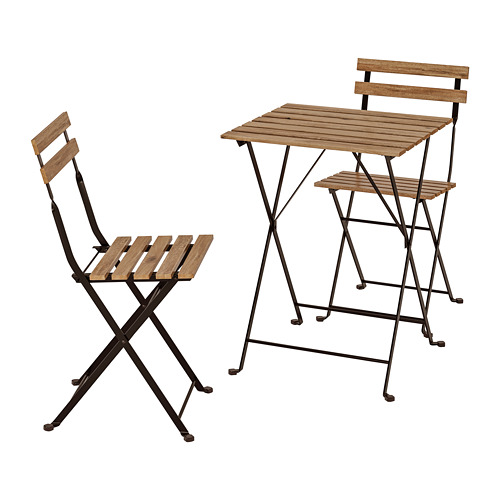 TÄRNÖ lauko stalas ir 2 kėdės