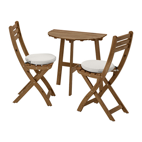 ASKHOLMEN seinalaud+2 kokkup. tooli, õue
