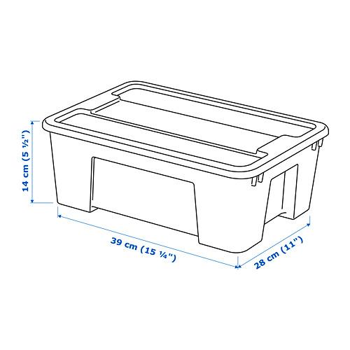 SAMLA kaste ar vāku