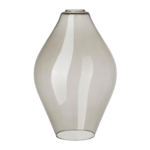 HOLMEJA griestu lampas abažūrs, 22x33x Ø22 cm pelēkā krāsā