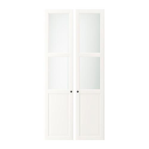 LIATORP plokštinės-stiklinės durys