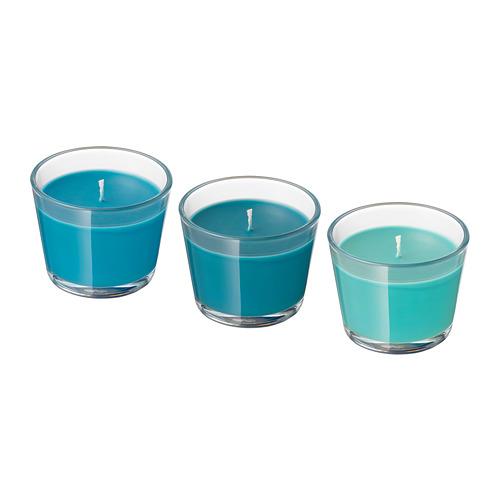 BRÄCKA aromatizētā svece stikla traukā