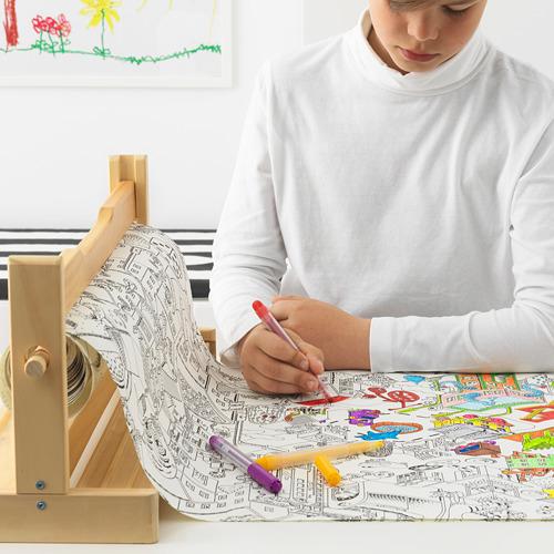 LUSTIGT krāsojamā papīra rullis