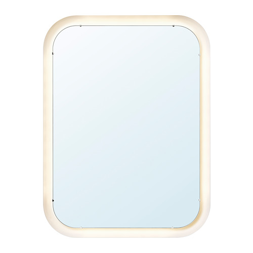 STORJORM veidrodis su įmontuotu šviestuvu