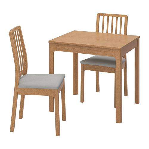 EKEDALEN/EKEDALEN stalas ir 2 kėdės