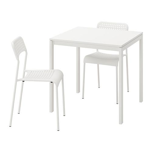MELLTORP/ADDE stalas ir 2 kėdės